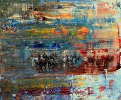 The Parade [Figurative-A1203] - $500.00 painting by oilpaintingsartmaker.com