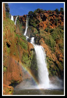 El Paraíso del Atlas By Guillermo Prieto Ouzoud Waterfalls Marrakech, in Morocco.