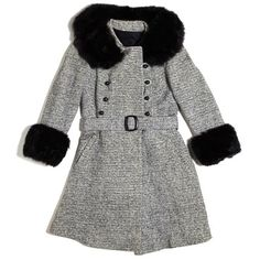 Tweed and Fox-Fur Coat    PRICE:  $385  AVAILABLE AT:  Chelsea Girl Vintage  SEEN IN STORE:  Spring 2012