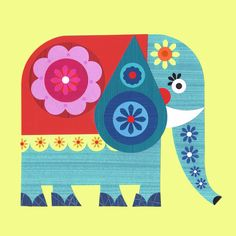 Decorate an Elephant with Flowers (Ellen Giggenbach)