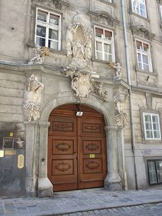 Doors in Salzburg, Austria