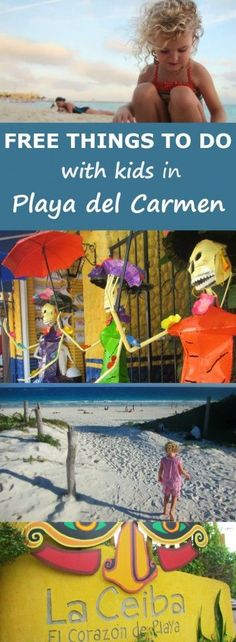 Free Things to Do with Kids in Playa del Carmen Mexico