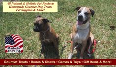 Great website for holistic pet products, homemade treats and mnay products that are MADE IN THE USA