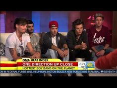 test One Direction GMA Interview | One Direction after VMA Awards on Good Morning America 8/27/2013
