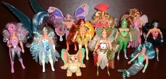 Masters of the Universe - She-Ra action figures!