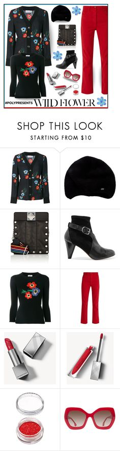 """Wild flowers"" by outfitsloveyou ❤ liked on Polyvore featuring Sonia Rykiel, Bliss and Mischief, Burberry and Alice + Olivia"