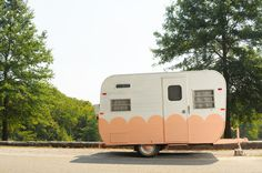 Scalloped trailer - turn into food truck!
