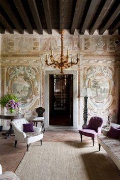 Stefano Scatà photographer - Frescoes in the music room at Villa Manin in Clauviano
