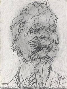 frank auerbach self portrait - Google Search