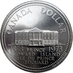 Canadian Coin Collection: 1973 - Prince Edward Island's Centennial