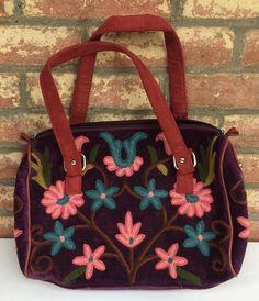 Deep-purple Short-strap Bag