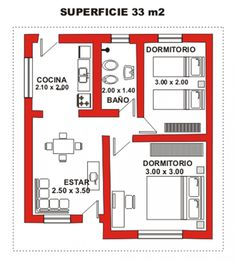 House Layout Plans, New House Plans, Small House Plans, House Layouts, House Floor Plans, 2 Bedroom House Plans, Cottage Style House Plans, Two Story House Design, Small House Design