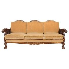 Check out this item at One Kings Lane! English Edwardian-Style Sofa