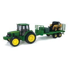 John Deere Big Farm 7330 Tractor with Lights N Sound with Wagon and Skidsteer - TBEK46115 by John Deere, http://www.amazon.com/dp/B005I0L07E/ref=cm_sw_r_pi_dp_iQOjqb1RJPEMN