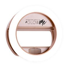 The bestselling GlowMe LED Selfie Ring Lights made even better – brighter, rechargeable via USB, AND NOW – available in crazy sexy Shimmer Silver, Champagne Gold, and Rose Gold - only from Impressions Vanity!Take the perfect selfies or qui. Three Stone Engagement Rings, Rose Gold Engagement Ring, Engagement Ring Settings, Led Selfie Ring Light, Makeup Brush Case, Accessoires Iphone, Schmuck Design, Coque Iphone, Unique Rings