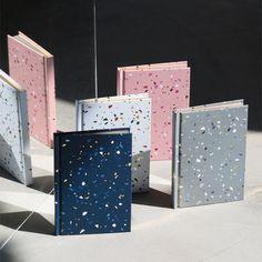 Terrazzo Notebook in Gray