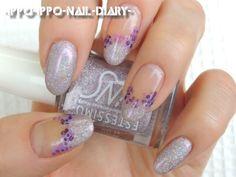 てんてん紫陽花ネイル。 [2013.06.04] | いっぽいっぽ ~Nail*Diary~