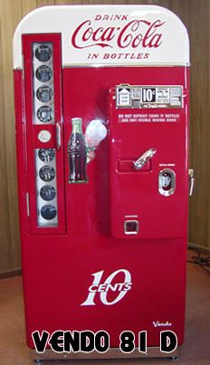Antique Coke Machine for Game Room/Bar