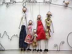 diy wire people
