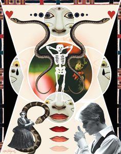 DEAD AGAINST IT - Album: Buddha Of Suburbia, 1993. David Bowie Art by Maia Valenzuela
