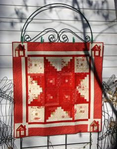 Star Log Cabin and Mini QuiltTutorial on the Moda Bake Shop. http://www.modabakeshop.com