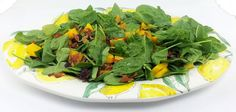 Grilled Mango Spinach Salad with Cranberries – A Gourmet Food Blog