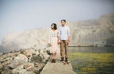 Sutro Baths engagement shot by Jamie Jones Photography
