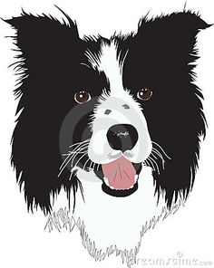 Farm Silhouette Clip Art Farm Dog Border Collie