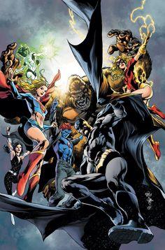 Justice League of America by Ivan Reis and Joe Prado