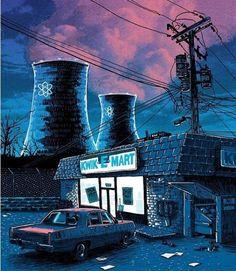 Foto: Ilustraciones conceptuales de los Simpsons: Springfield   ilustraciones galerias imagenes creatividad
