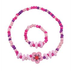 Jewelry Sets for Little Girls - Stretch Necklace and Bracelet