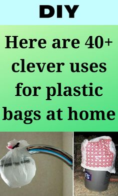 Here are 40+ clever uses for plastic bags at home Cleaning Recipes, House Cleaning Tips, Cleaning Hacks, Amazing Pics, Just Amazing, Plastic Bags, Plastic Recycling, Thing 1, Do It Yourself Projects