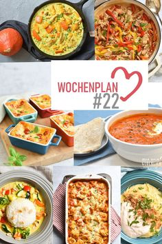 Wochenplan 22 abwechslungsreiche rezeptideen fr eine woche 24 sandwich recipes that are perfect for a picnic Summer Grilling Recipes, Healthy Dinner Recipes, Vegetarian Recipes, Delicious Recipes, Vegan Vegetarian, Crock Pot Recipes, Paleo Meal Prep, Seafood Recipes, Crockpot