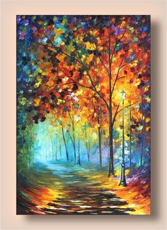 Fog Alley  Limited Edition Wall Decor Print On by AfremovArtStudio