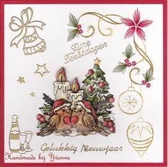 Y Verliefde kerstvogeltjes