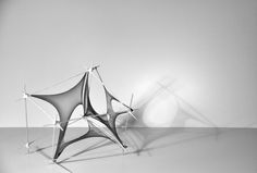 Tensile Membrane / Surface Exploration by Hiroshi Yoshinaga, via Behance