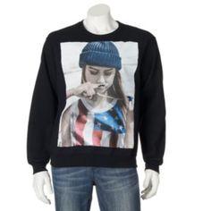 Tony Hawk Mustache Girl Sweatshirt - Men