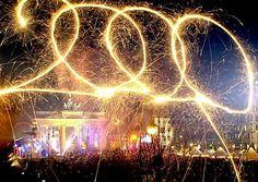 Dubai New Year's Eve, the new millenium.