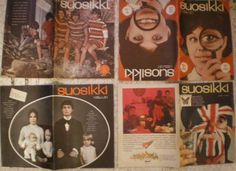 4 Suosikki covers. (unfortunately I didn't seen the dates...)