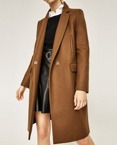 Image 6 of MASCULINE DOUBLE BREASTED COAT from Zara