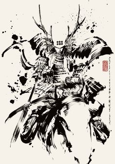 Ronin Samurai, Samurai Warrior, Ninja Kunst, Samurai Artwork, Ninja Art, Japanese Warrior, Age Of Empires, Samurai Tattoo, Art Japonais
