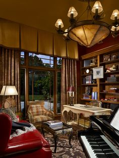 Study - Rustic - Home office - Images by Joseph A Berkowitz Interiors | Wayfair