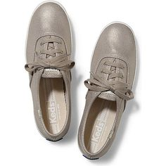 56371625ac0df Keds Champion Metallic ( 45) ❤ liked on Polyvore featuring shoes