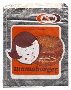 A Burger~yummy, root beer floats, baby, mama & papa burgers!!
