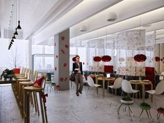 Chameleon Restaurant by Za architects