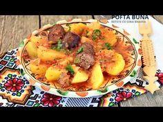 Tocana, iahnie, mancare de cartofi cu carnati afumati | Gina Bradea - YouTube Potato Salad, Potatoes, Dinner, Cooking, Ethnic Recipes, Youtube, Food, Dining, Baking Center