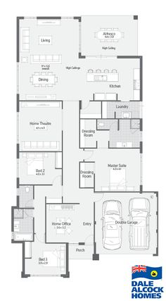 New Home Designs Perth | Malay I | Dale Alcock Homes