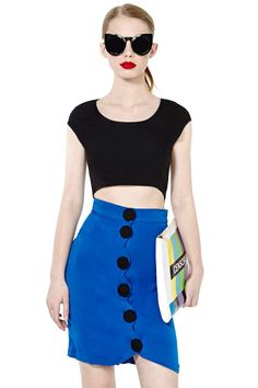"""Seriously gorgeous """"look at me"""" skirt! @NASTY GAL #vitnage"""