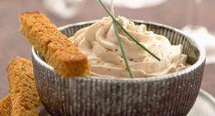 Chantilly au foie grasVoir la recette de la Chantilly au foie gras >>