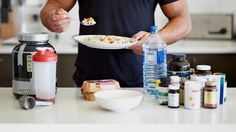 Americans are wolfing down about twice as much protein as is recommended. The latest dietary guidelines from the U.S. government advise men to consume 56 grams of protein a day; for women it's 46 grams. Meanwhile, most Americans do not eat enough fiber (as recommended). Eating enough fiber gives you better gut bacteria.